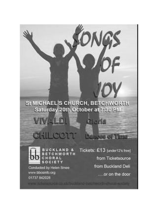 BBCS - St. Michael's Church 20th Oct