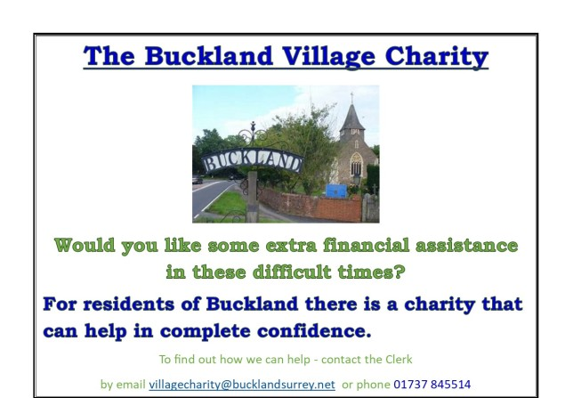 Buckland Charity